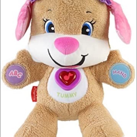 EUC Fisher-Price Laugh and Learn Puppy Sis